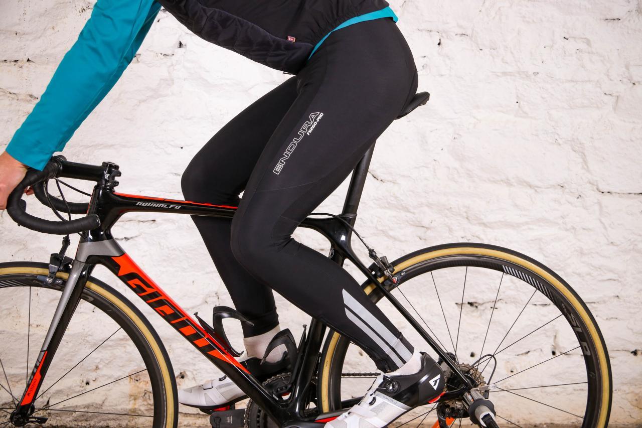 Endura Mens Windchill Cycling Bibtights with Pad