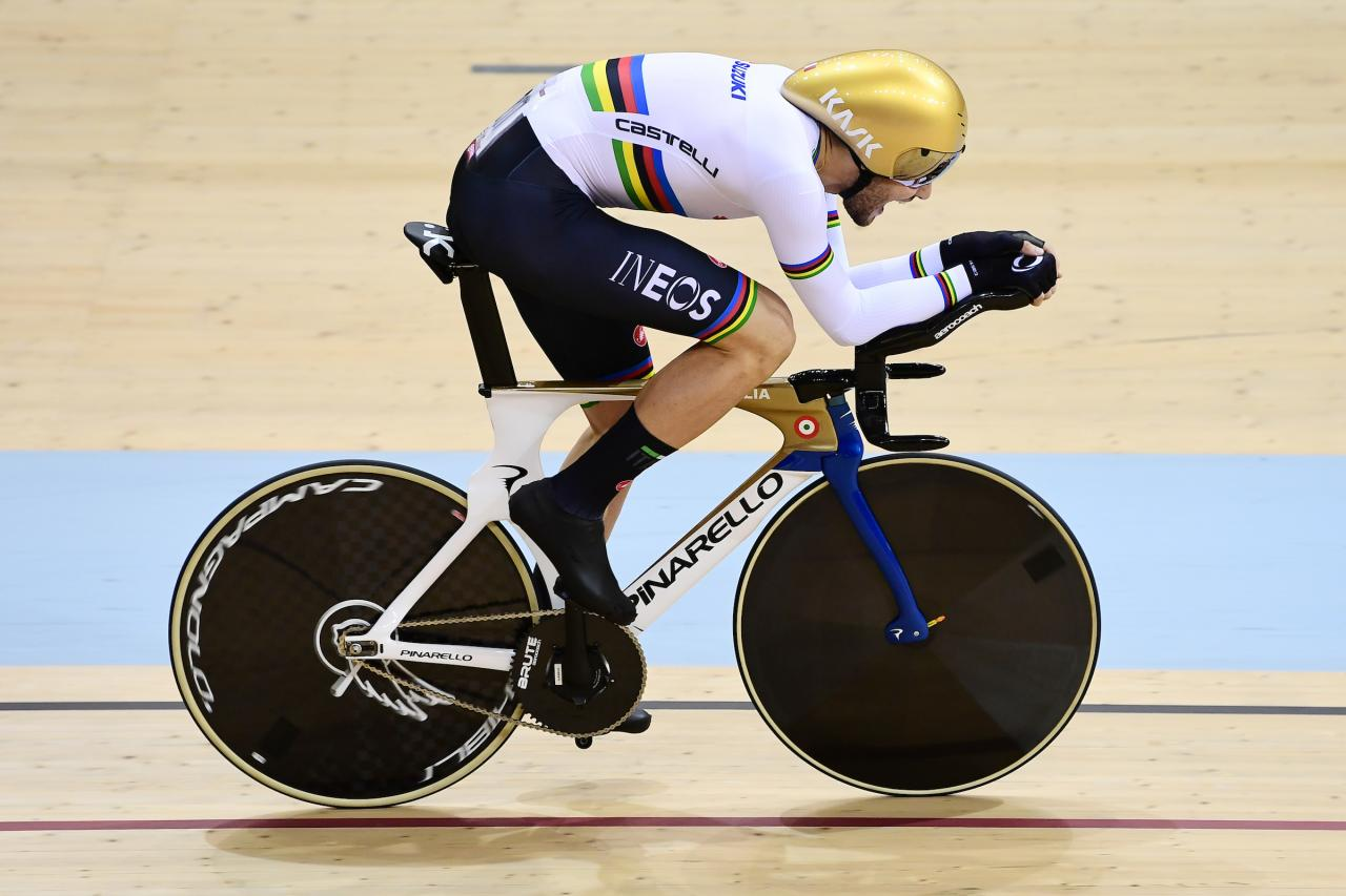 Filippo Ganna breaks individual pursuit world record twice in a day | road.cc