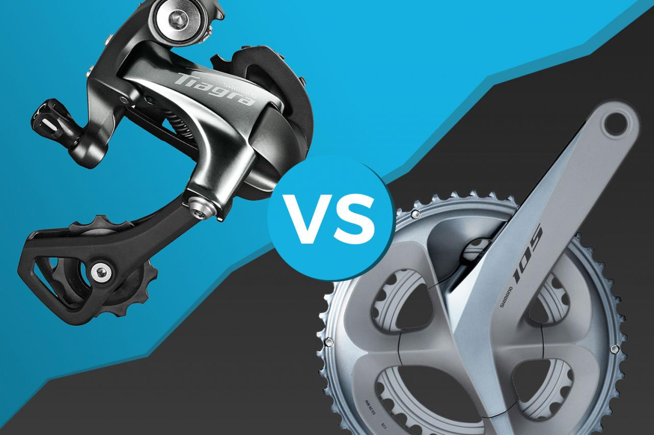 1872a31aa4b Head to head: Shimano Tiagra v Shimano 105 R7000. by Mat Brett June 29  2019. 39 Comments. How to decide between these two super-popular groupsets