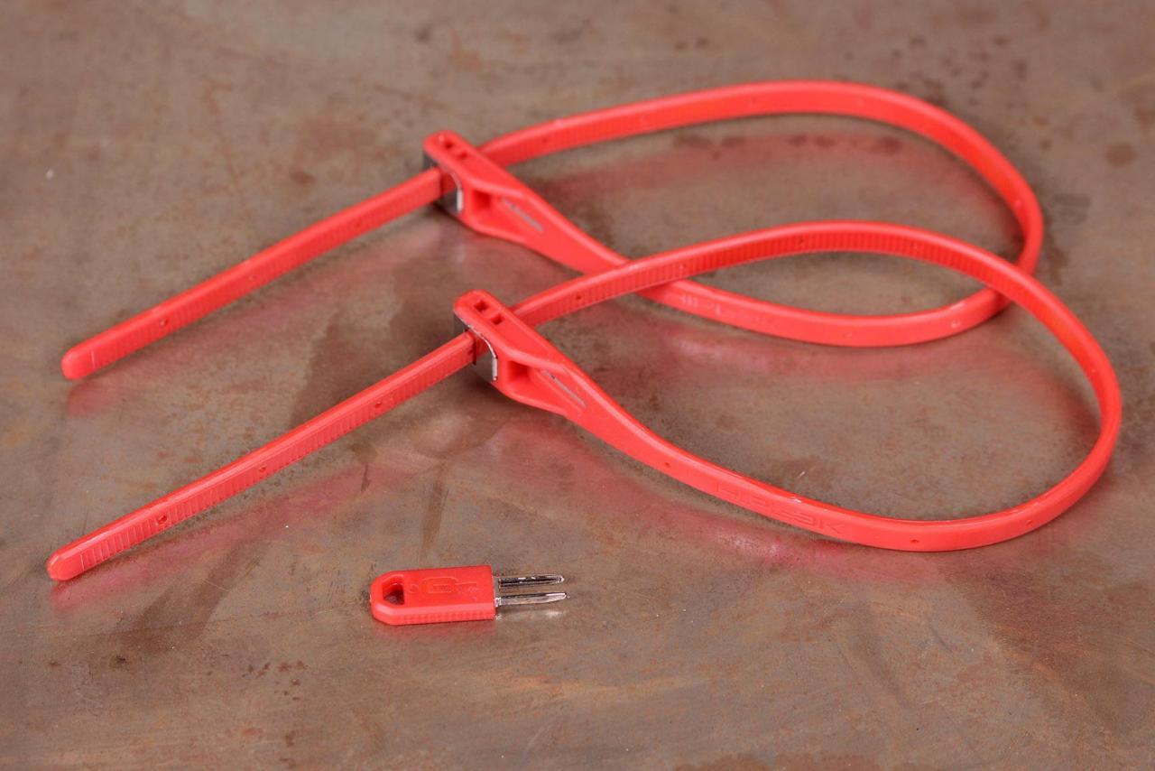 Hiplok Z-Lok Security Tie Lock Single