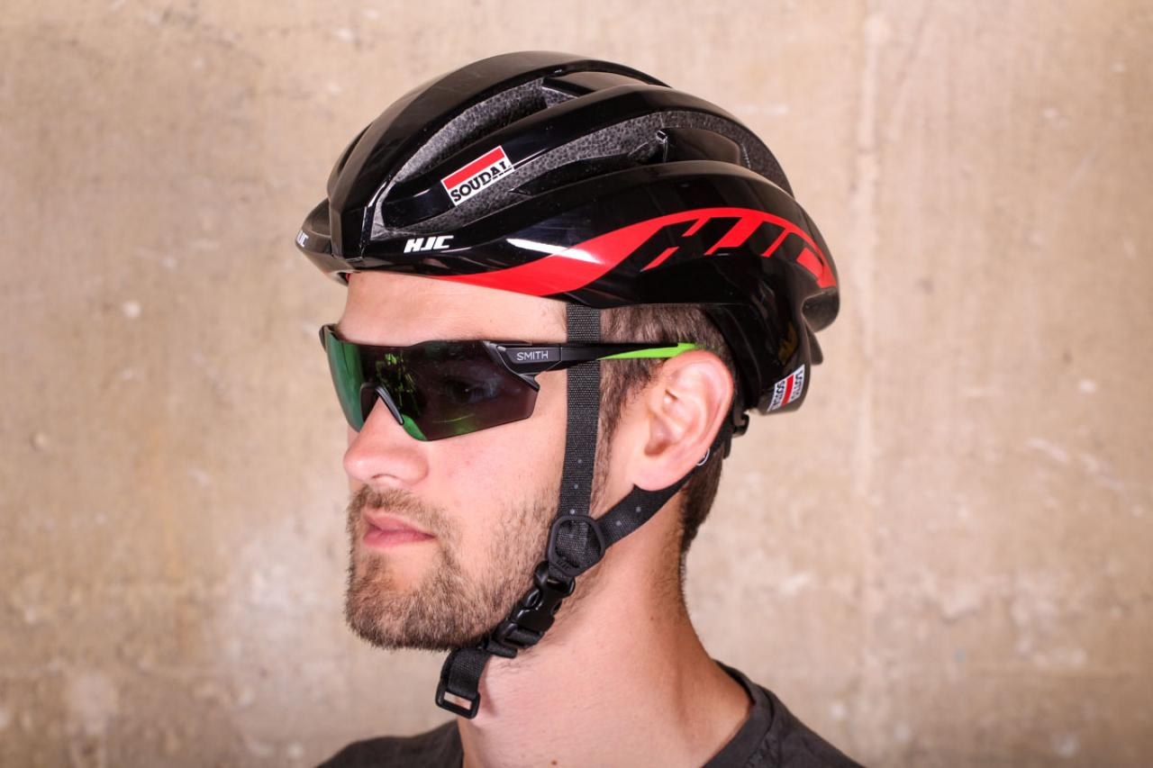 – Red Black HJC Ibex 2.0 Aerodynamic Road Bicycle Helmet Size L 58-63cm