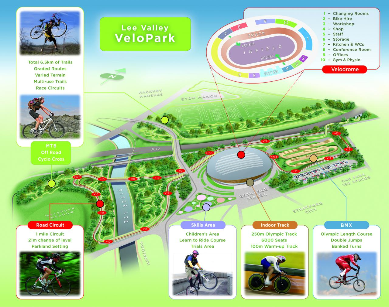 London's Olympic VeloPark opens for business | road cc