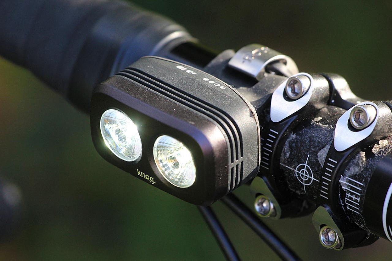 Black Front Light Knog Blinder Road 600