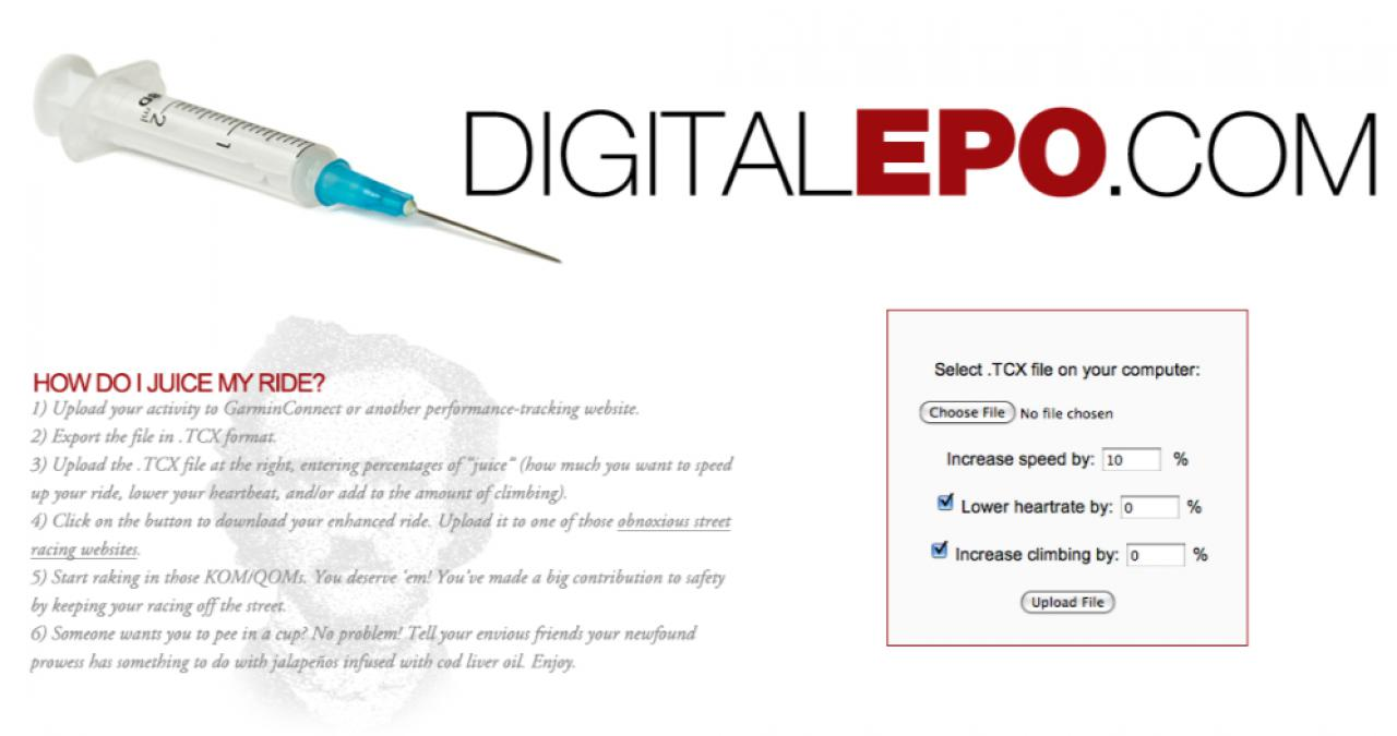 Digital EPO: smash your Strava times… by cheating | road cc