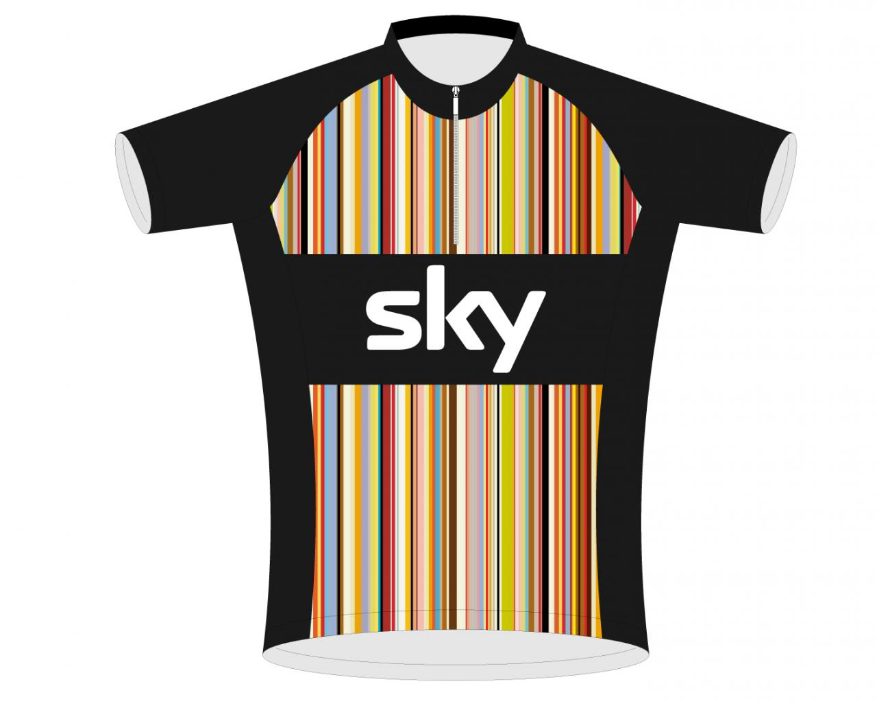 Paul Smith to design Rapha s Team Sky kit   c6aef9098