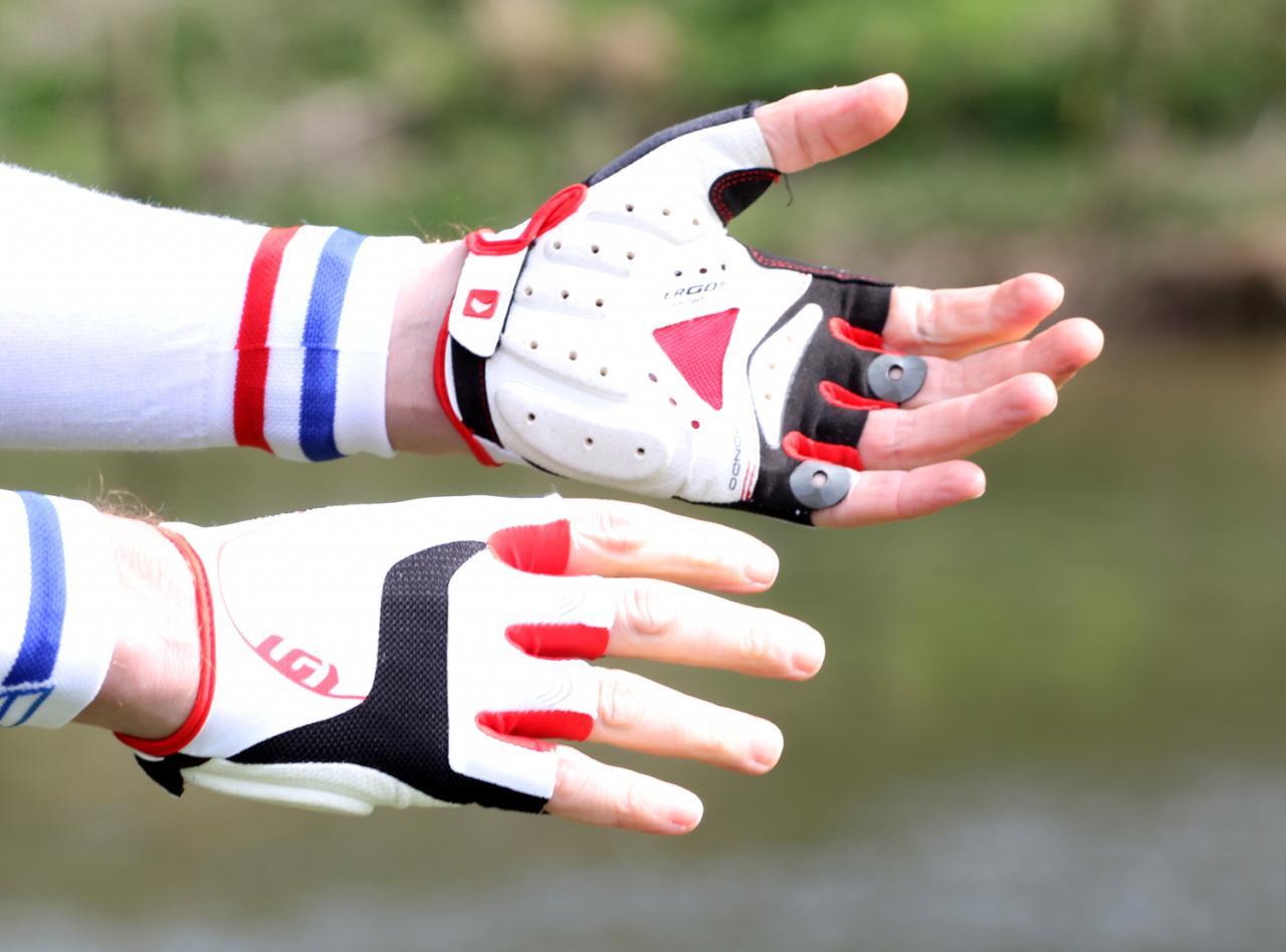 Louis Garneau Air Gel Plus Mens Cycling Gloves Road Bike Comfort Reduce Numbing