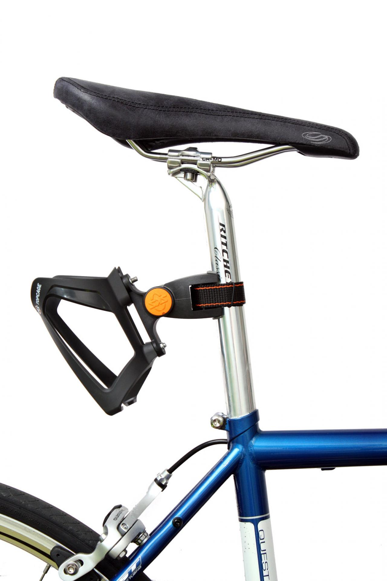Water Bottle Cage Bicycle Mounted Rack Bracket Quick release Plastic Adapter
