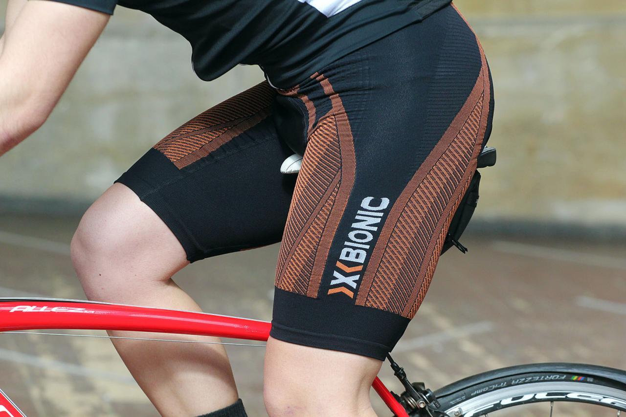 X-BIONIC the Trick G2 Bib Bike Shorts Mens Cycling Shorts Cycling Pants Cushion