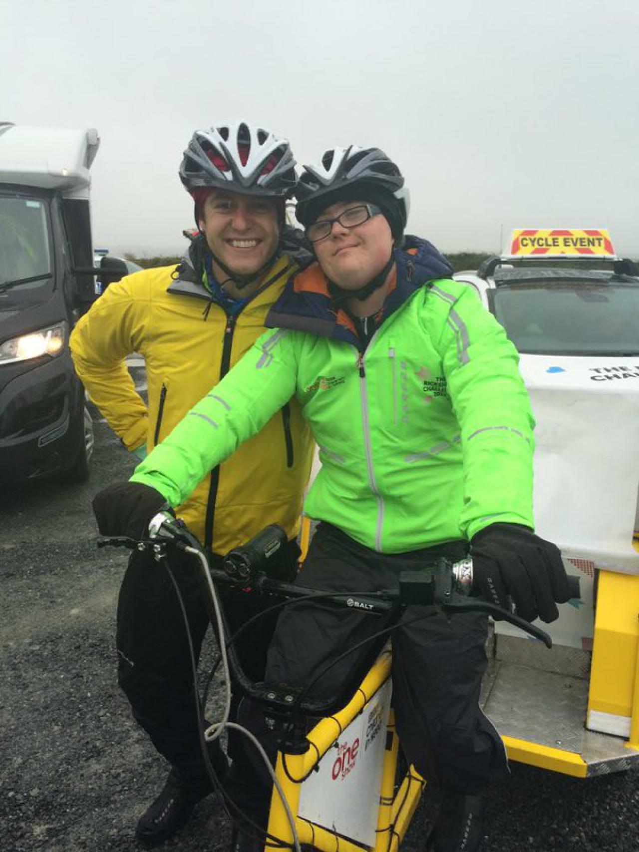951a3e6d30e One Show presenter Matt Baker and six intrepid teenagers set off on a 470  mile rickshaw journey