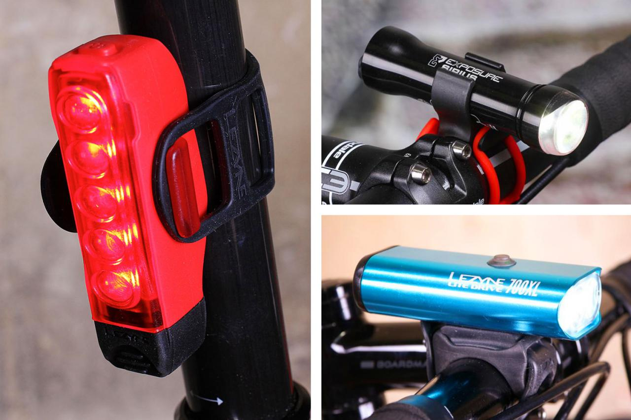 2 x LED Bike Lights Front /& Rear Set Cycle Super Bright Bicycle Lights Cycling