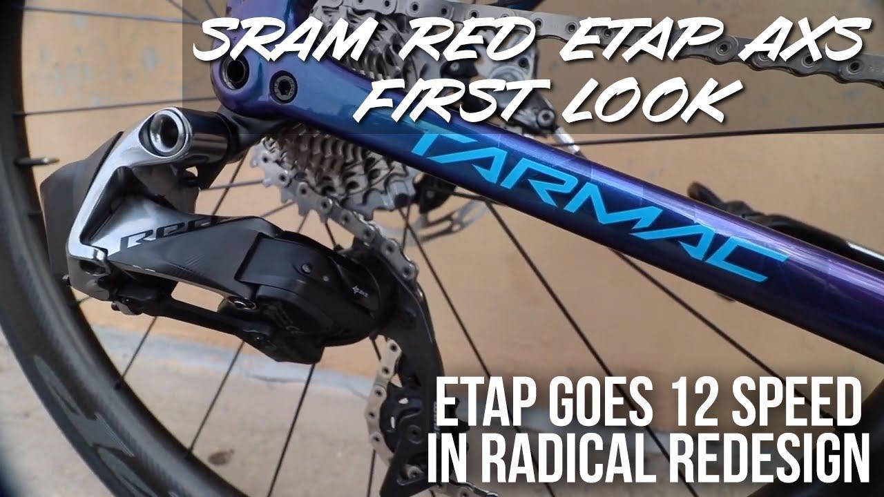 SRAM RED eTap AXS – 12-speed wireless groupset with radical