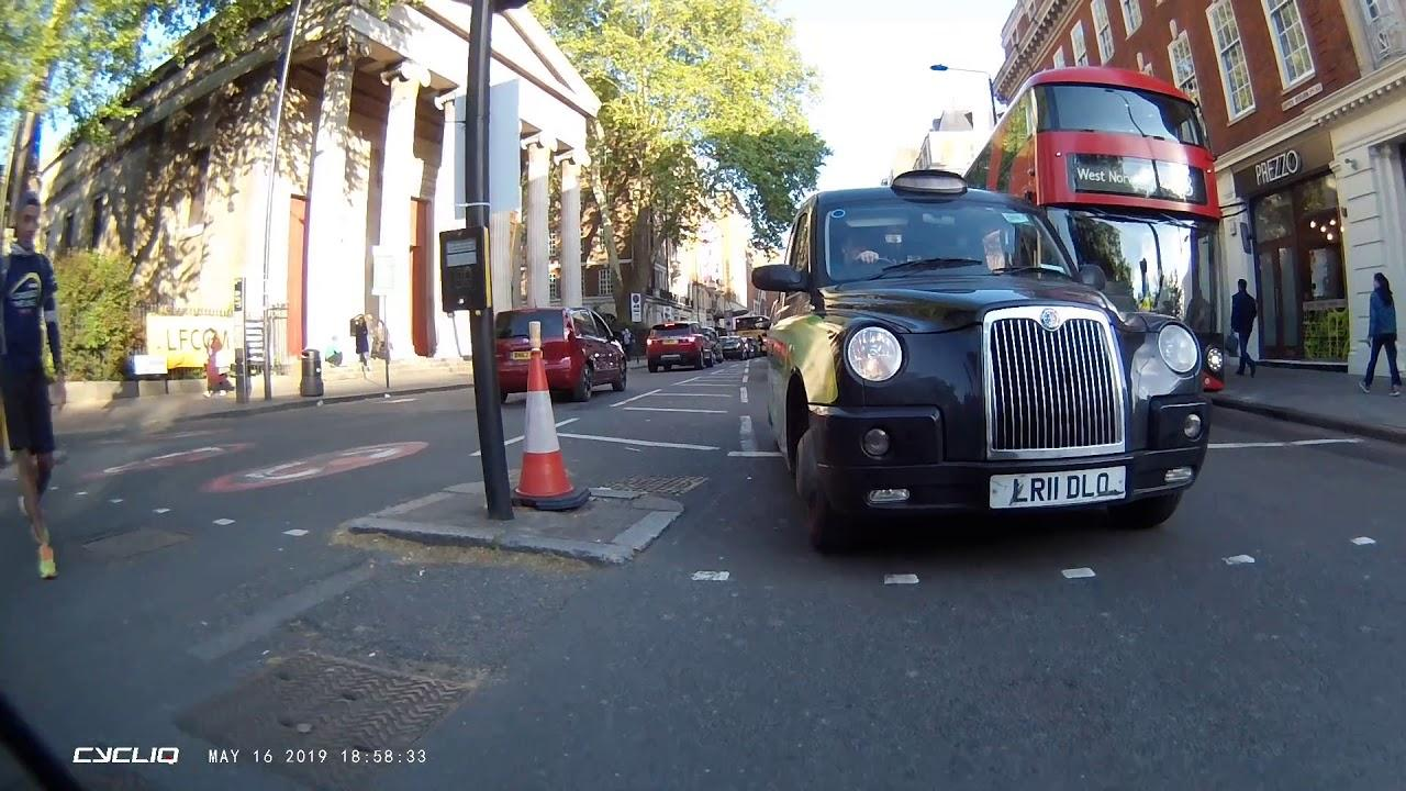 Near Miss of the Day 359: Cyclist uses bus CCTV to get taxi driver prosecuted
