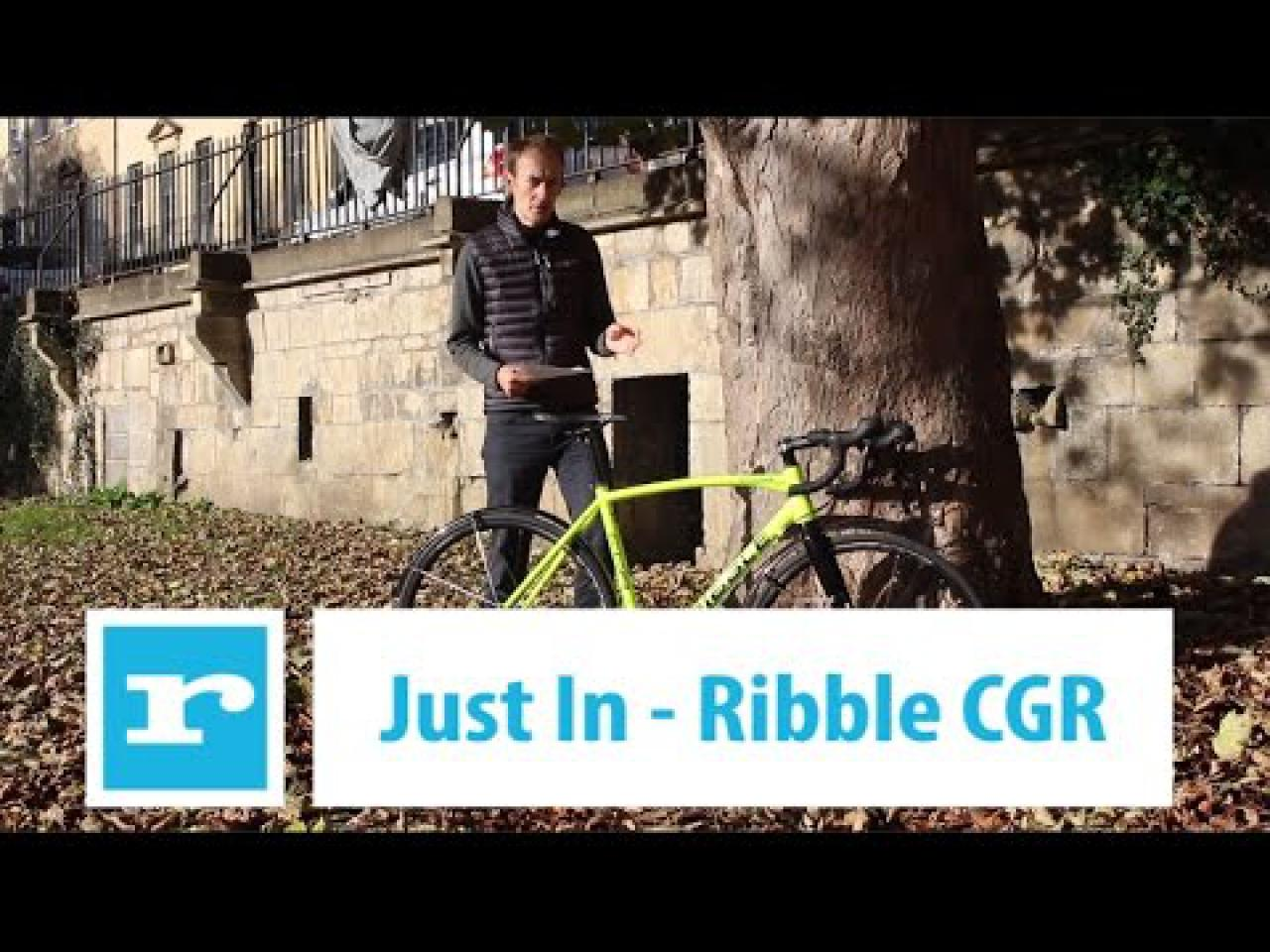 Video Just In: Ribble CGR adventure and gravel bike | road cc