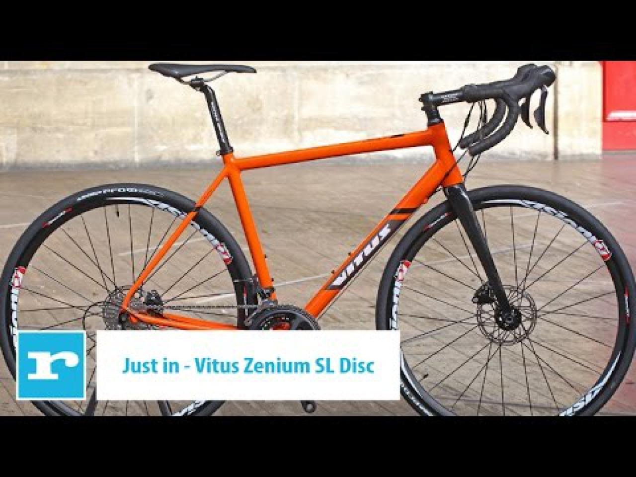 b34444a9c Video Just In  Vitus Zenium SL Disc