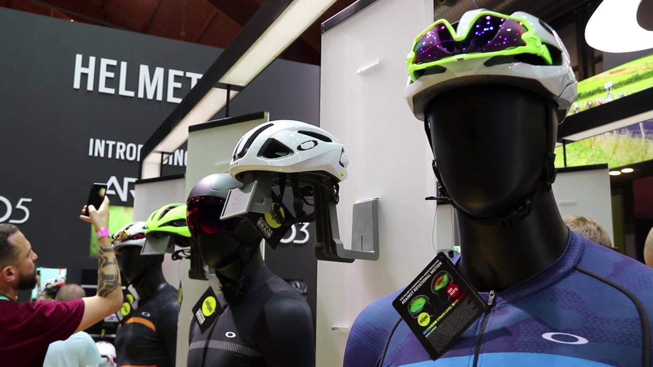a97c7fb17c Video  Oakley unveil range of road helmets at Eurobike