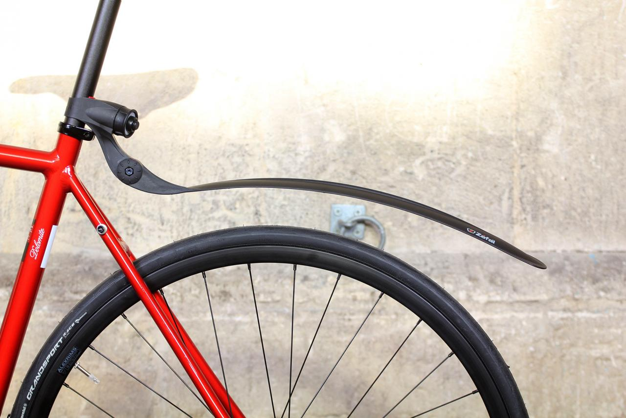 Zefal Universal Shield S10 Road Bike Rear Mudguard Bicycle with Double Lock