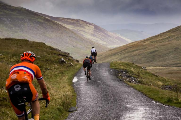 scottish borders road riding