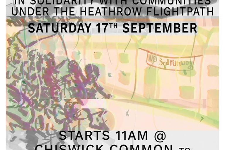Heathrow protest ride