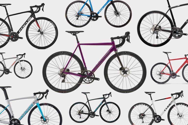 15 aluminium disc-equipped road bikes August 2018