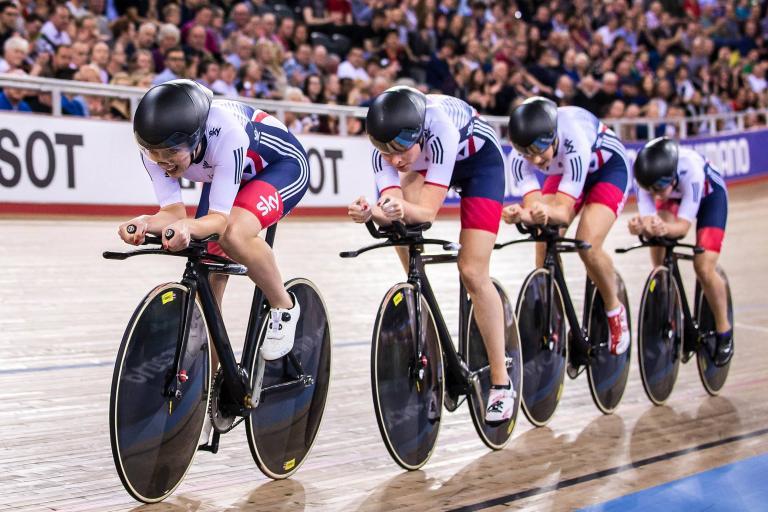 Elinor Barker Ciara Horne Team Pursuit