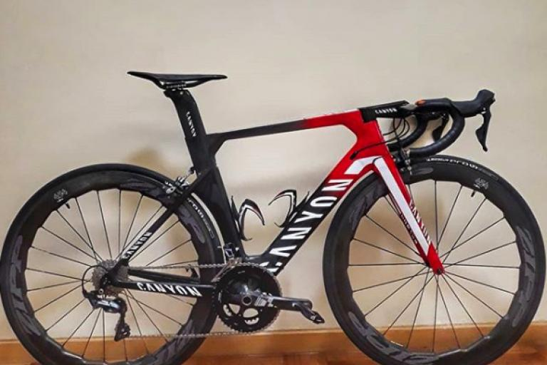 Is this the new Canyon Aeroad or is it a fake? | road cc
