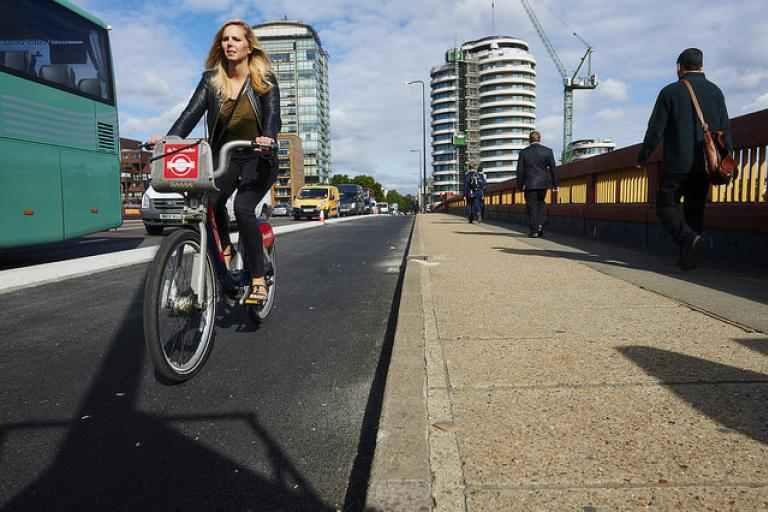 Cycle Superhighway 5, London (pic credit: Britishcycling.org.uk)