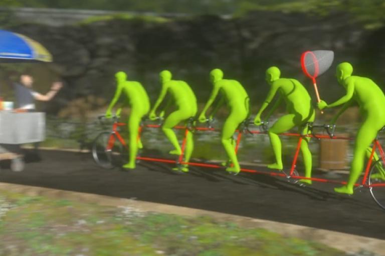 3D cycling
