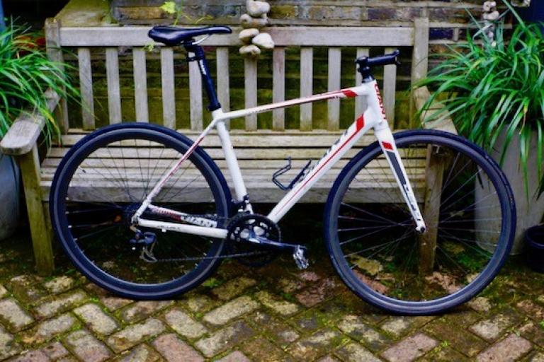 Stolen bike dumped via Jon Rowe