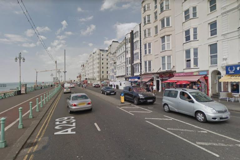 A259 Marine Parade in Brighton (via Google Street View).PNG