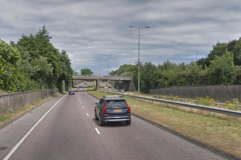 A338 Spur Road (via StreetView)
