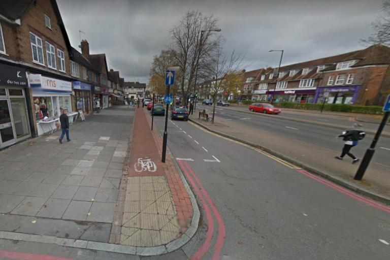 A34 cycle lane (via StreetView)