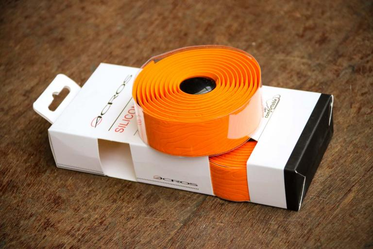 Acros Silicone Wrap Handlebar Tape - Orange