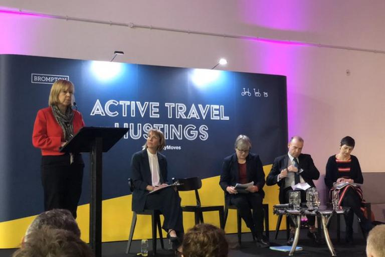 Active Travel Hustings