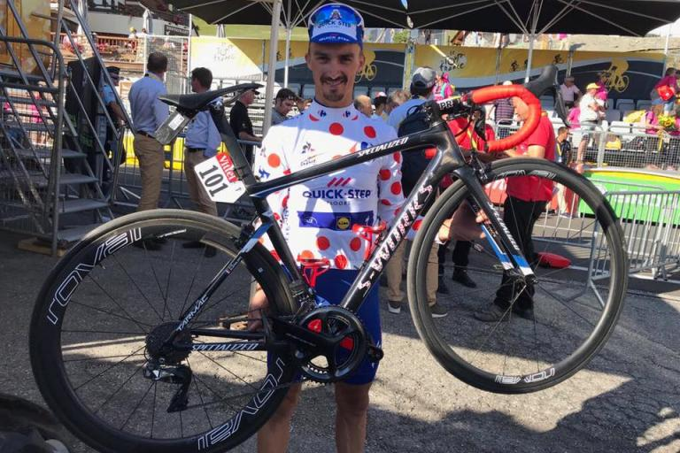 Alaphilippe Specialized S-Works Tarmac QuickStep Floors Facebook