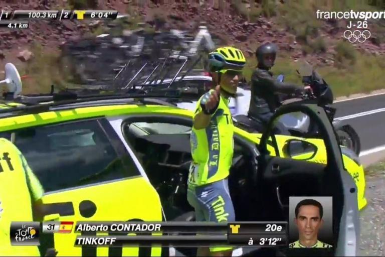 Alberto Contador abandons the 2016 Tour de France.jpg