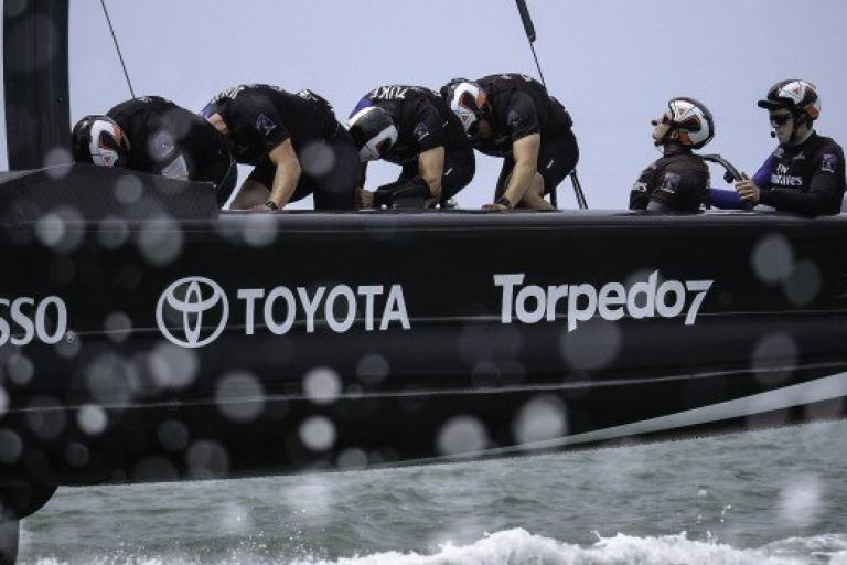 America's Cup meets pedal power - picture credit Emirates Team New Zealand.jpg