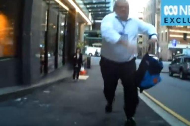 Angry man in Brisbane (source ABC News).JPG
