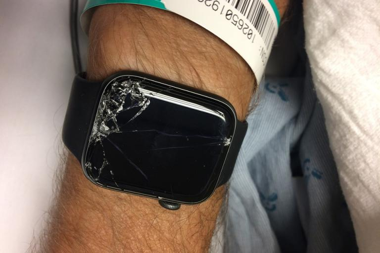 Apple Watch via Gabe Burdett on Twitter