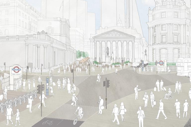 bank junction plans artist's impression