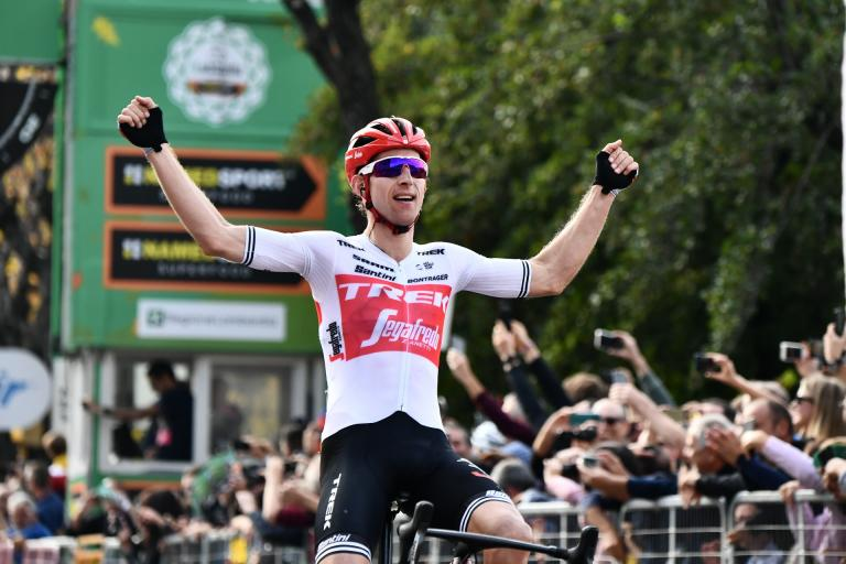 Bauke Mollema wins 2019 il Lombardia (picture credit LaPresse)