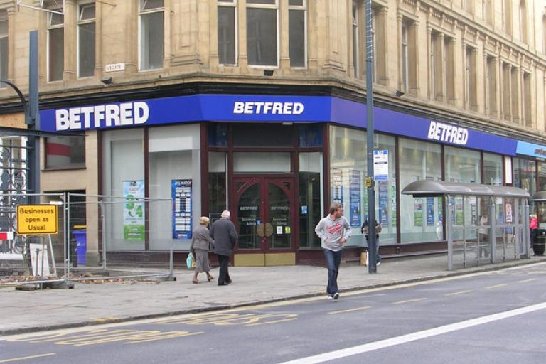Betfred - licensed CC BY SA 2.0 by Betty Longbottom