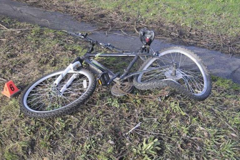 The bike hit by Alexander Coombes (Sussex Police).jpg