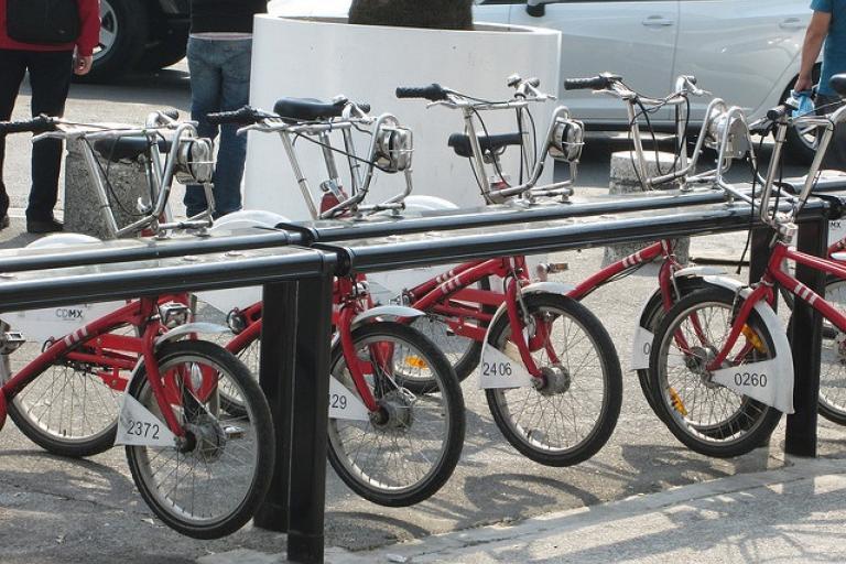 Bike share, Mexico City (CC licensed by Design for Health via Flickr).jpg