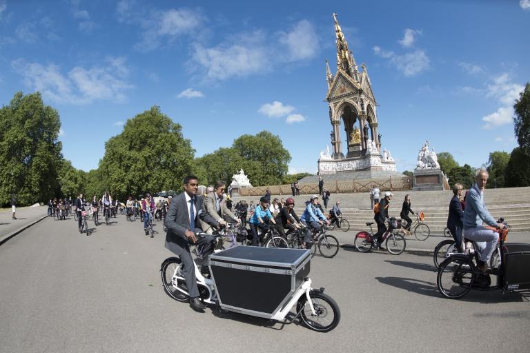 Bike Week (Credit Joolze Dymond, Cycling UK)