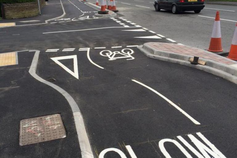 Bradford cycle superhighway (picture credit Twitter usser LeeDotDash).jpg