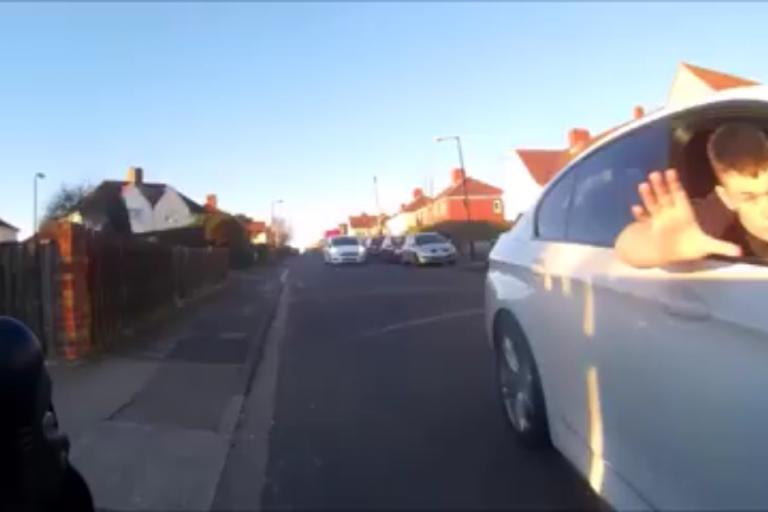 Bristol Driver leans out of window (Dave Edmonds Facebook video still).PNG