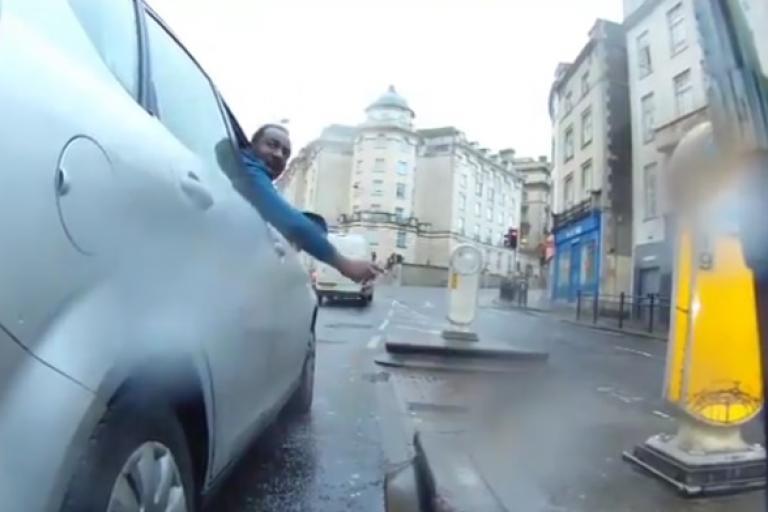 Bristol taxi driver (via Twitter)