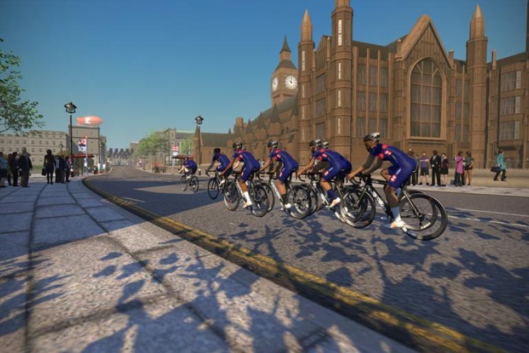 British Cycling on Zwift