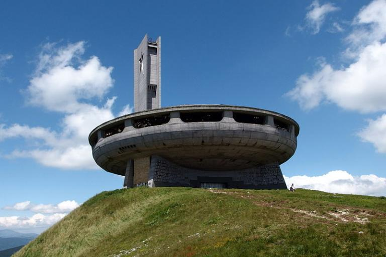 Buzludzha Monument, TCR No 7 control point 2 (licensed CC BY SA 4.0 by Mark Ahsmann on Wikimedia Commons)
