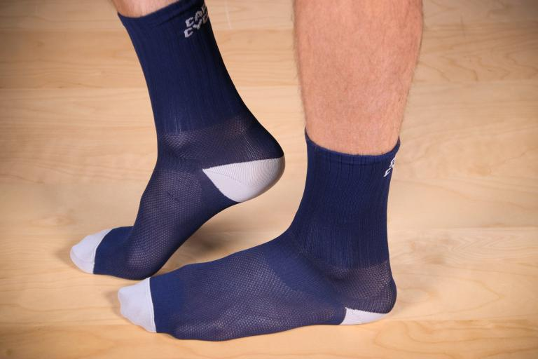 Cafe du Cycliste Colour Socks Navy.jpg